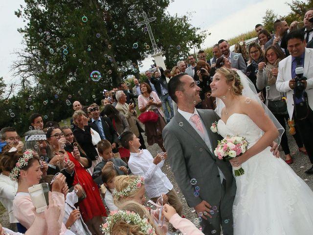 Le mariage de Alexandre et Marjorie à Épinouze, Drôme 70