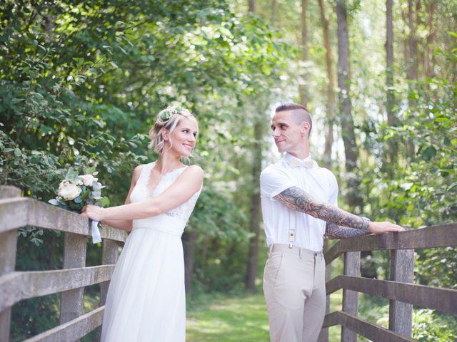 Le mariage de Jessy et Mélanie à Gisors, Eure 1