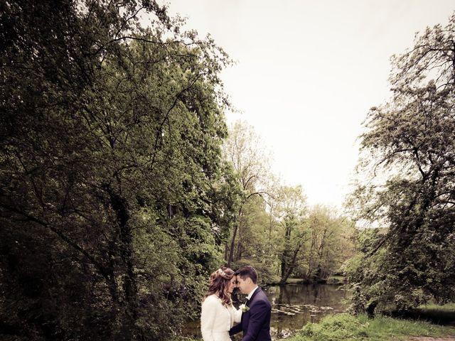 Le mariage de Damien et Jennifer à Vert-le-Petit, Essonne 91