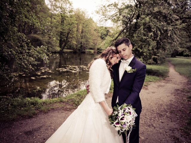 Le mariage de Damien et Jennifer à Vert-le-Petit, Essonne 93