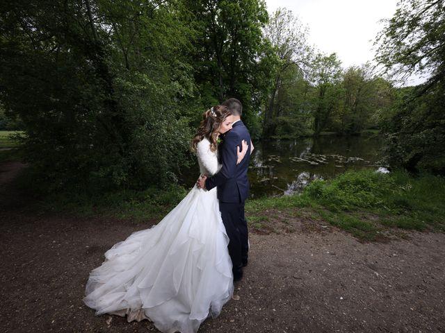 Le mariage de Damien et Jennifer à Vert-le-Petit, Essonne 94
