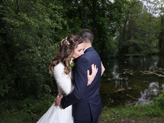 Le mariage de Damien et Jennifer à Vert-le-Petit, Essonne 95