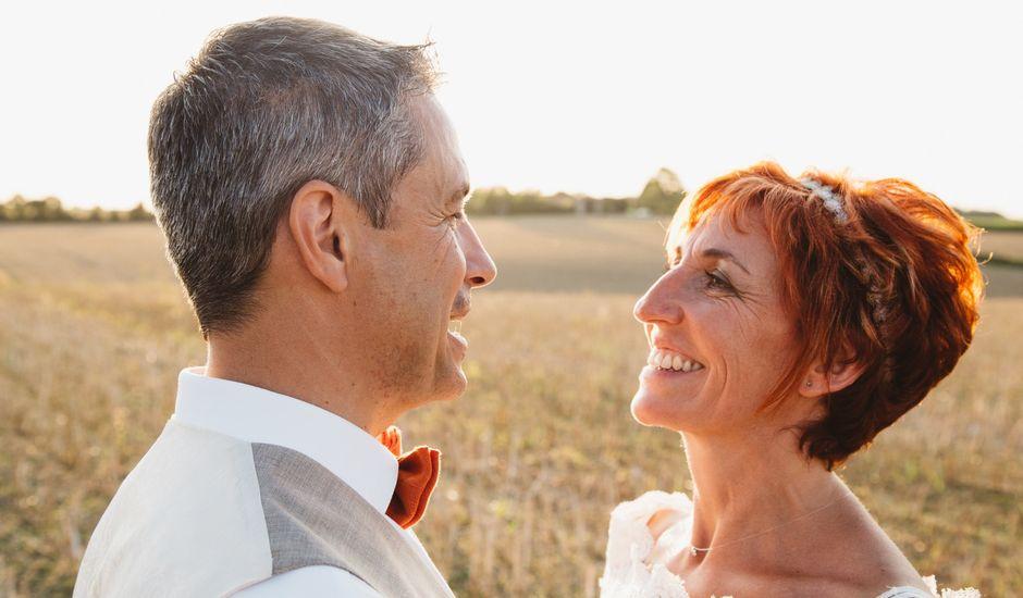 Le mariage de Guillaume et Céline à Condéon, Charente
