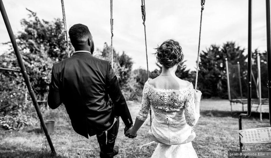 Le mariage de Hibrahim et Myriam à Dreux, Eure-et-Loir