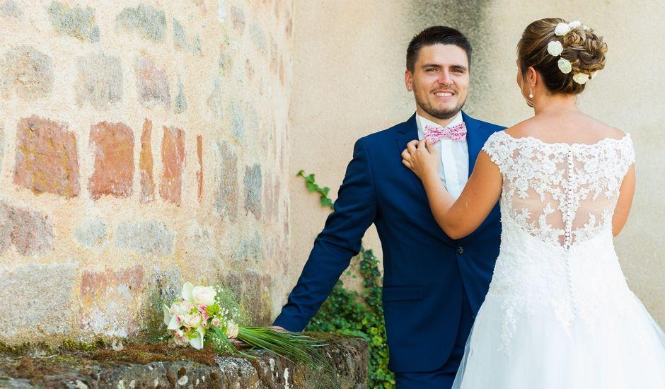 Le mariage de Rodolphe et Julie à Moulins, Allier