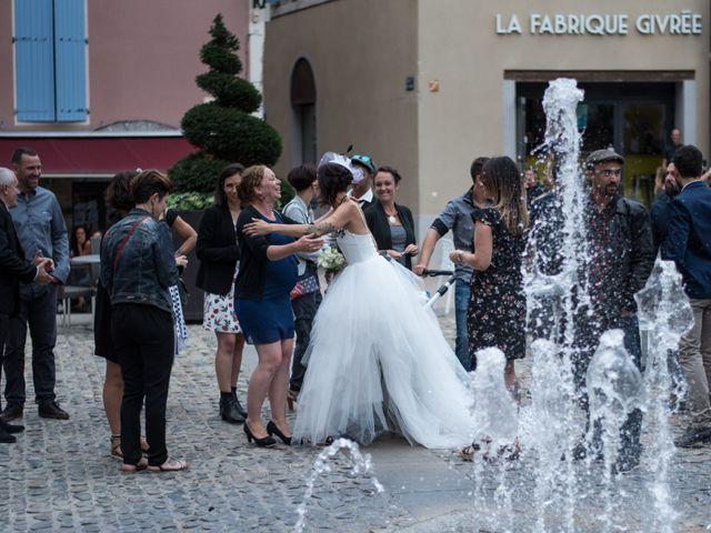 Le mariage de Christophe et Elodie à Aubenas, Ardèche 5