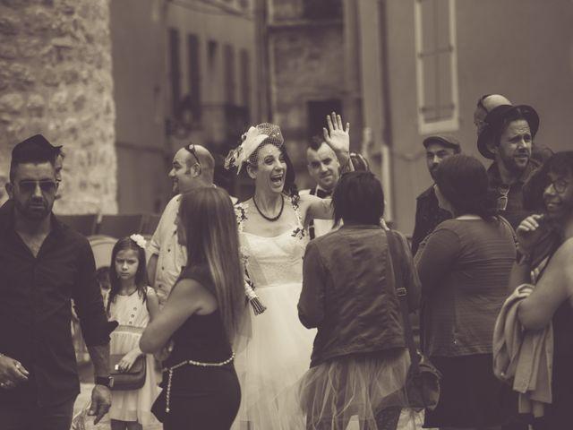 Le mariage de Christophe et Elodie à Aubenas, Ardèche 9