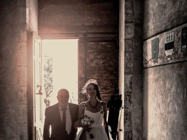 Le mariage de Christophe et Elodie à Aubenas, Ardèche 11