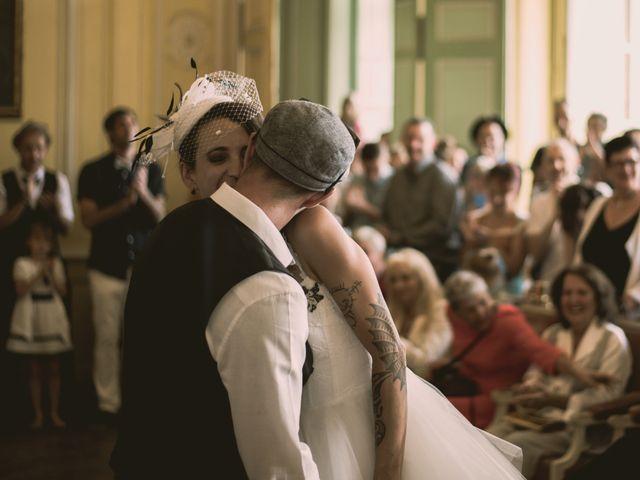 Le mariage de Christophe et Elodie à Aubenas, Ardèche 12
