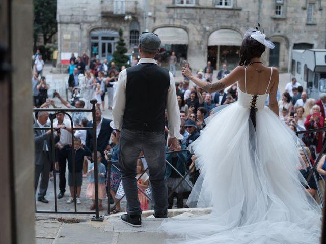 Le mariage de Christophe et Elodie à Aubenas, Ardèche 14