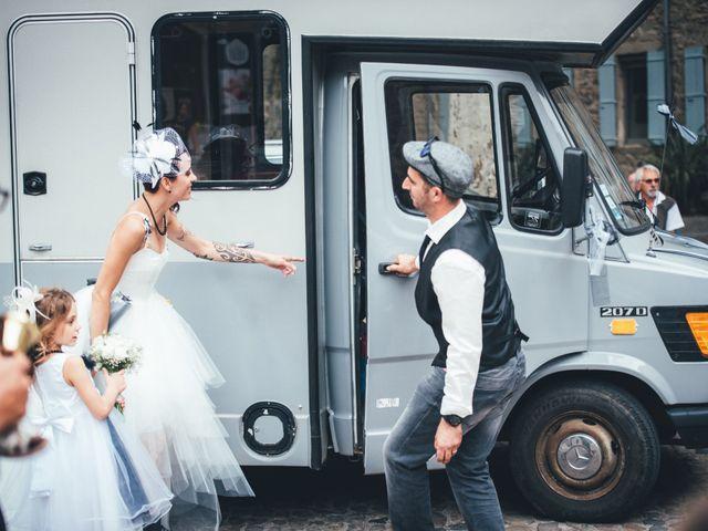 Le mariage de Christophe et Elodie à Aubenas, Ardèche 19