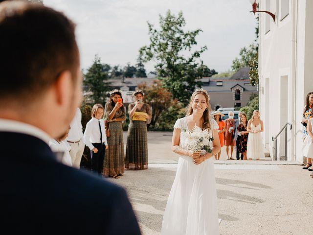 Le mariage de Charles et Jeanne à Freigné, Maine et Loire 5