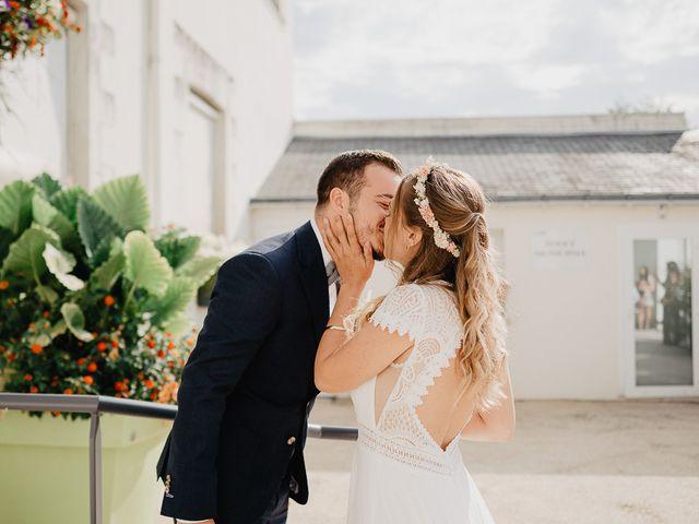 Le mariage de Charles et Jeanne à Freigné, Maine et Loire 6