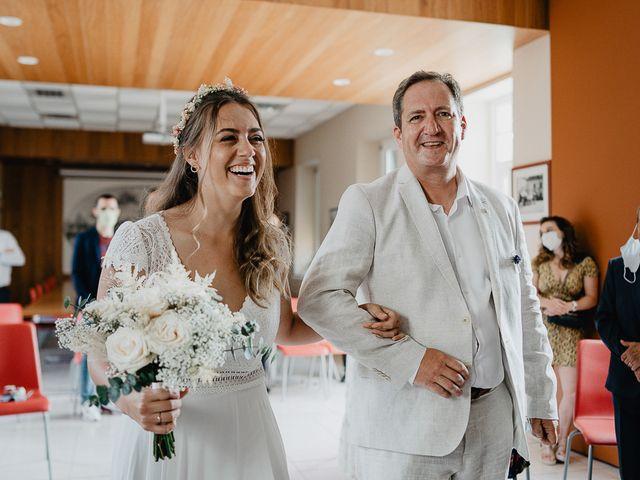 Le mariage de Charles et Jeanne à Freigné, Maine et Loire 7