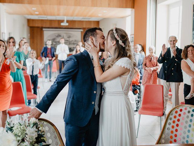 Le mariage de Charles et Jeanne à Freigné, Maine et Loire 11