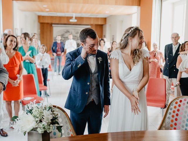 Le mariage de Charles et Jeanne à Freigné, Maine et Loire 12