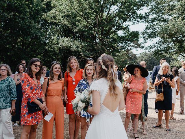 Le mariage de Charles et Jeanne à Freigné, Maine et Loire 15