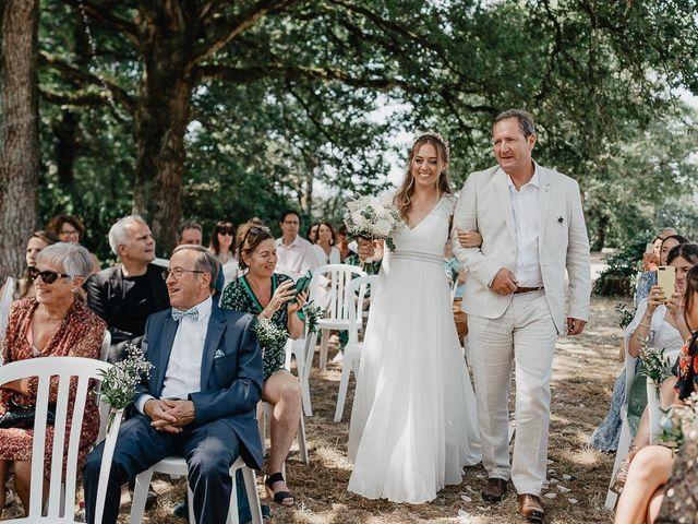 Le mariage de Charles et Jeanne à Freigné, Maine et Loire 17