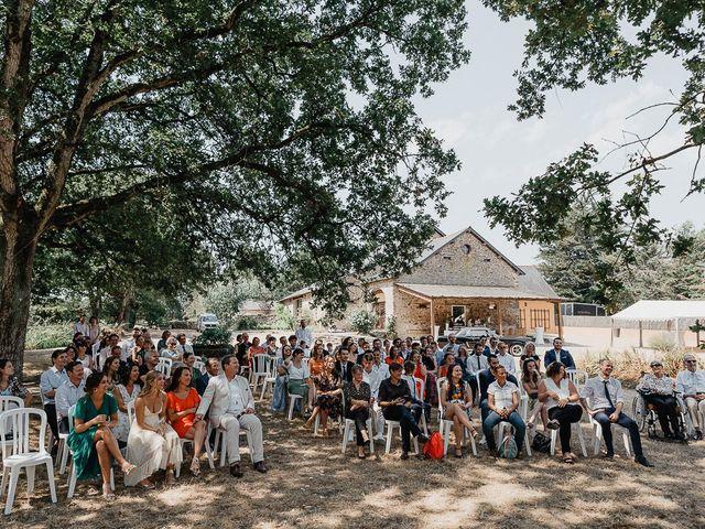 Le mariage de Charles et Jeanne à Freigné, Maine et Loire 33
