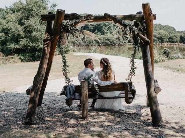 Le mariage de Charles et Jeanne à Freigné, Maine et Loire 43