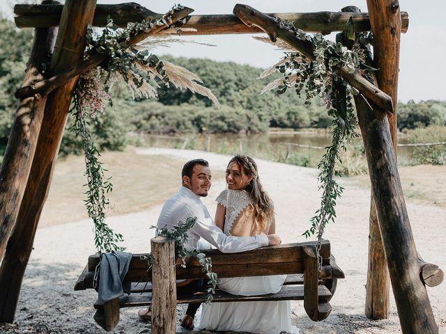 Le mariage de Charles et Jeanne à Freigné, Maine et Loire 44