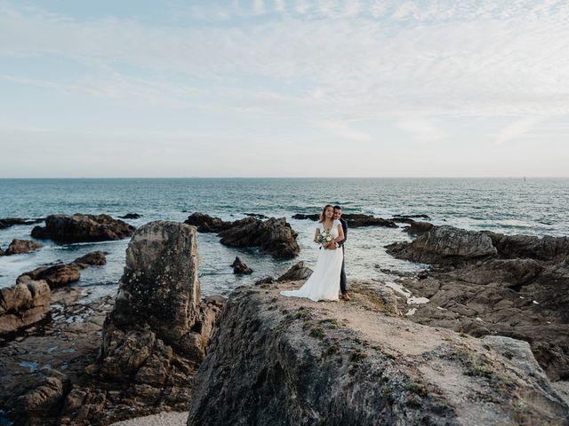 Le mariage de Charles et Jeanne à Freigné, Maine et Loire 74