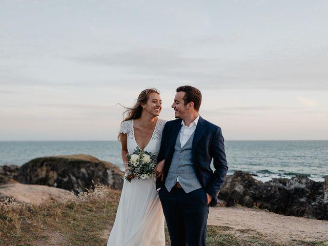 Le mariage de Charles et Jeanne à Freigné, Maine et Loire 76