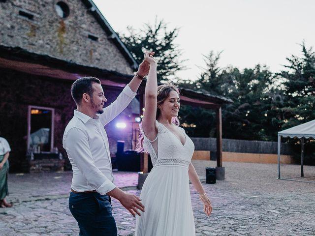 Le mariage de Charles et Jeanne à Freigné, Maine et Loire 84