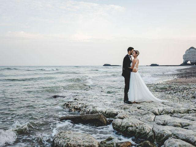 Le mariage de Mickaël et Elise à Aubevoye, Eure 76