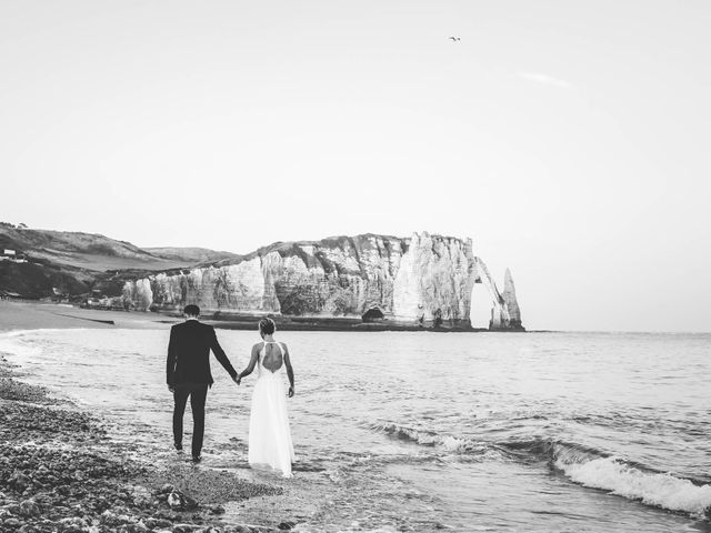 Le mariage de Mickaël et Elise à Aubevoye, Eure 95