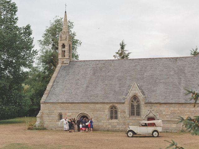 Le mariage de Emmanuel et Alexandra à Clohars-Carnoët, Finistère 5