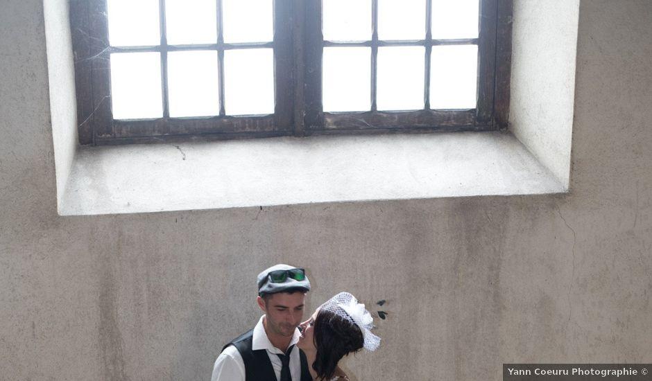 Le mariage de Christophe et Elodie à Aubenas, Ardèche