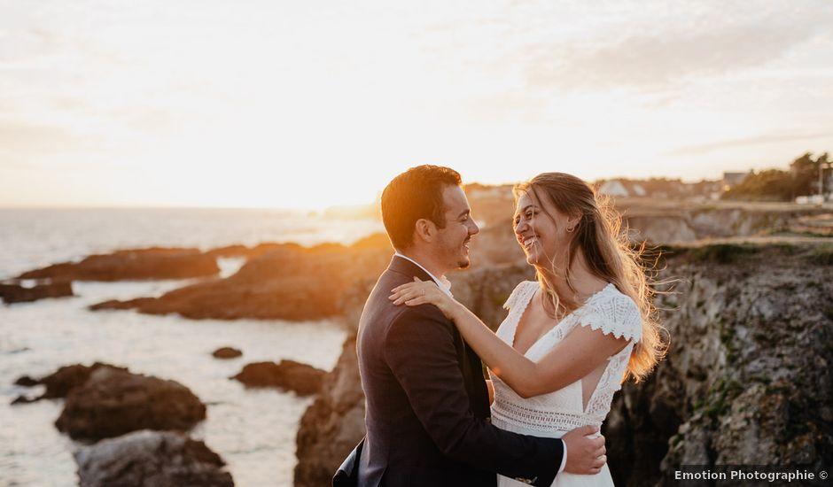 Le mariage de Charles et Jeanne à Freigné, Maine et Loire