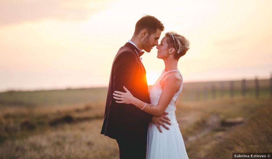 Le mariage de Mickaël et Elise à Aubevoye, Eure