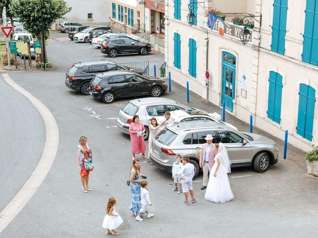 Le mariage de Samuel et Alla à Vallon-en-Sully, Allier 30