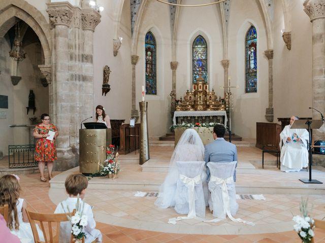 Le mariage de Samuel et Alla à Vallon-en-Sully, Allier 42