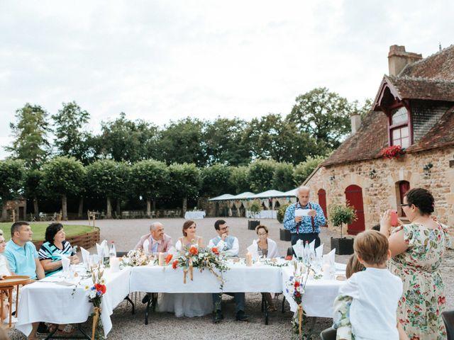 Le mariage de Samuel et Alla à Vallon-en-Sully, Allier 95