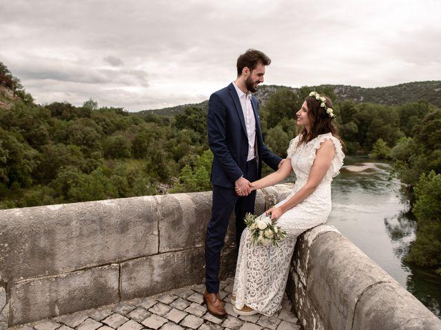 Le mariage de Gary et Jessica à Brissac, Hérault 42