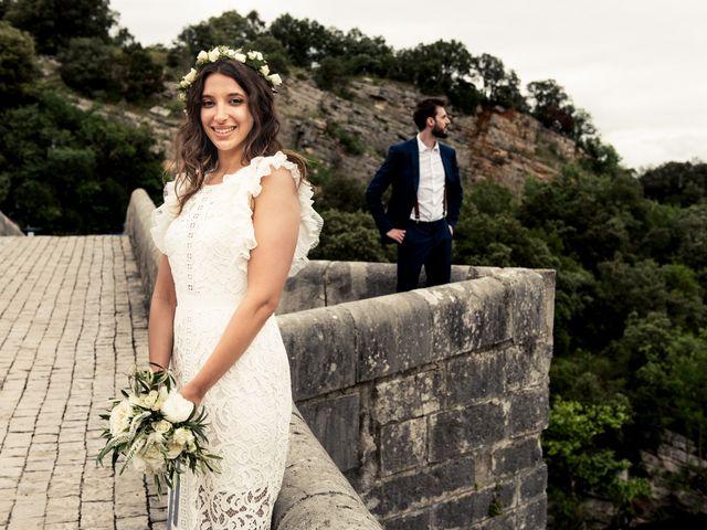 Le mariage de Gary et Jessica à Brissac, Hérault 44