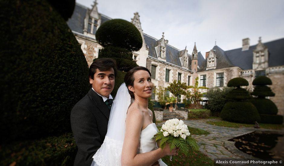 Le mariage de Raphaël et Claire à Champtocé-sur-Loire, Maine et Loire