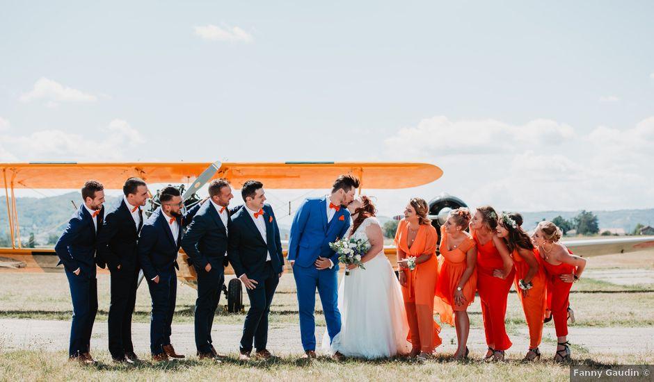 Le mariage de Christopher et Elodie à Saint-Jean-de-Bournay, Isère