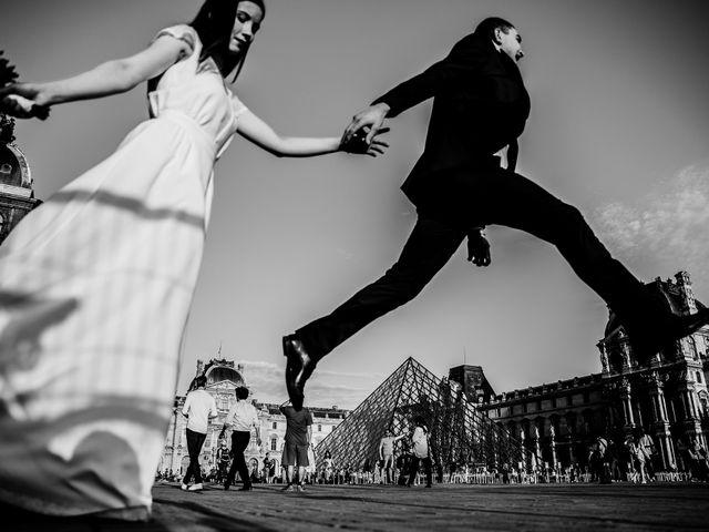 Le mariage de Mihaela et Dumitru à Paris, Paris 9