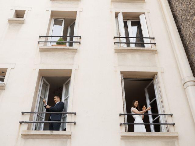 Le mariage de Mihaela et Dumitru à Paris, Paris 14