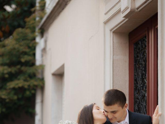 Le mariage de Mihaela et Dumitru à Paris, Paris 18