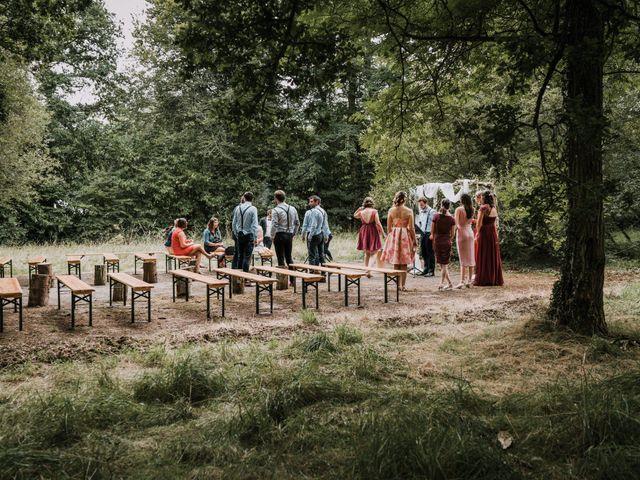 Le mariage de Jérome et Mathilde à Le Faouët, Morbihan 2