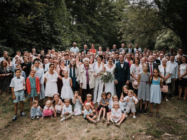Le mariage de Jérome et Mathilde à Le Faouët, Morbihan 85