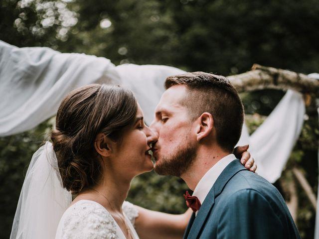 Le mariage de Jérome et Mathilde à Le Faouët, Morbihan 94
