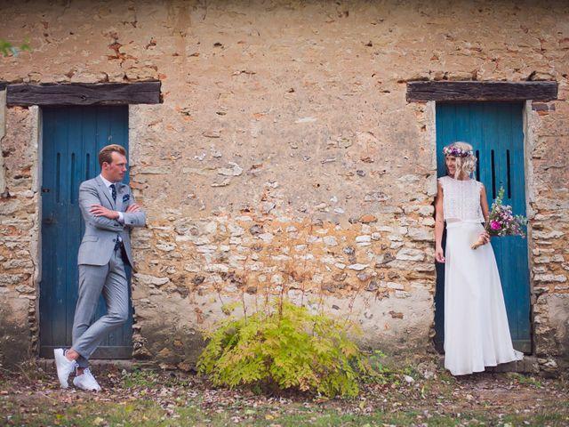 Le mariage de Benjamin et Stephanie à Boisset-les-Prévanches, Eure 1