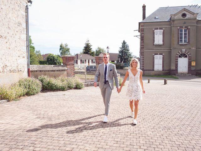 Le mariage de Benjamin et Stephanie à Boisset-les-Prévanches, Eure 32