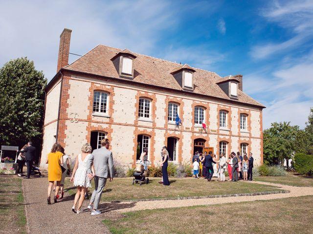 Le mariage de Benjamin et Stephanie à Boisset-les-Prévanches, Eure 33